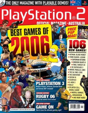 Playstation 2 Official Magazine (AUS) Issue 51 (March 2006)