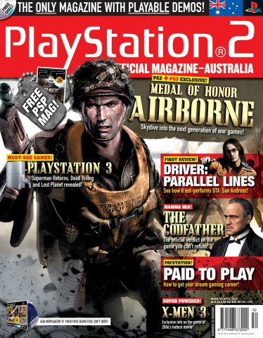 Playstation 2 Official Magazine (AUS) Issue 52 (April 2006)