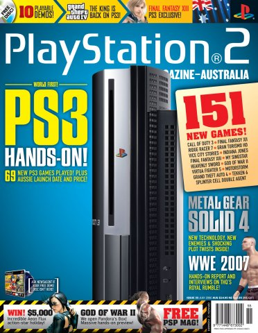 Playstation 2 Official Magazine (AUS) Issue 55 (July 2006)