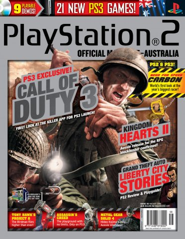 Playstation 2 Official Magazine (AUS) Issue 56 (August 2006)