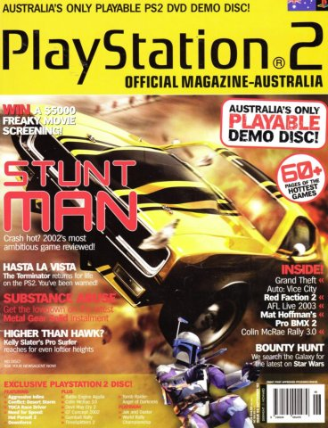 Playstation 2 Official Magazine (AUS) Issue 06 (September 2002)