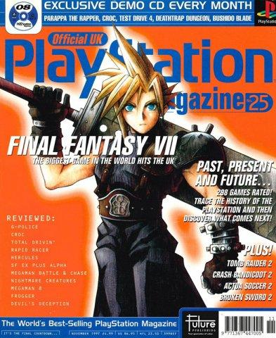 Official UK PlayStation Magazine Issue 025 (November 1997)