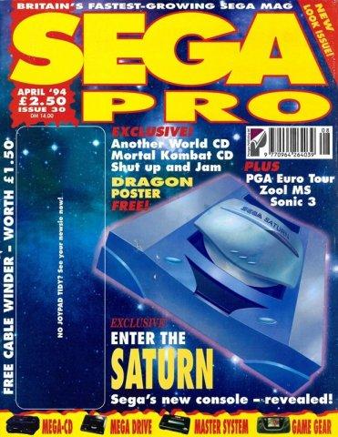 Sega Pro 30 (April 1994)