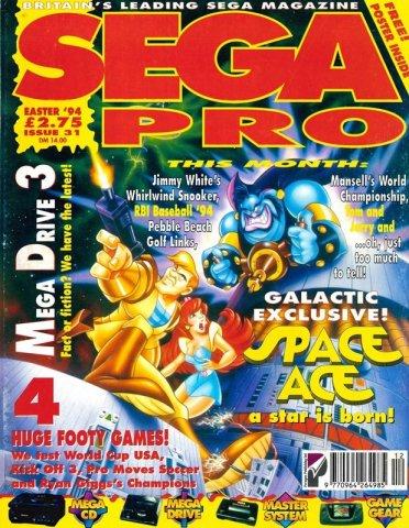 Sega Pro 31 (Easter 1994)