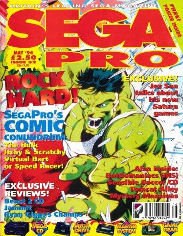 Sega Pro 32 (May 1994)