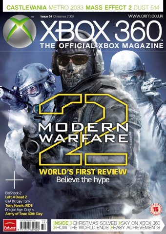 XBOX 360 The Official Magazine Issue 054 Xmas 2009