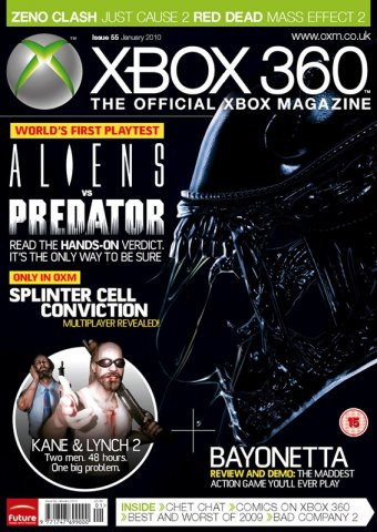 XBOX 360 The Official Magazine Issue 055 January 2010