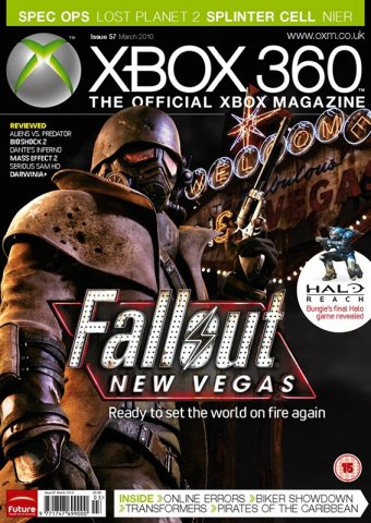 XBOX 360 The Official Magazine Issue 057 March 2010