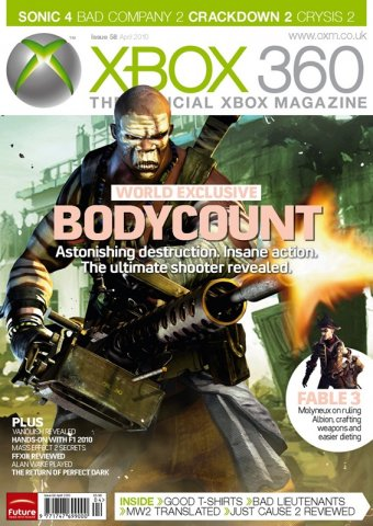 XBOX 360 The Official Magazine Issue 058 April 2010