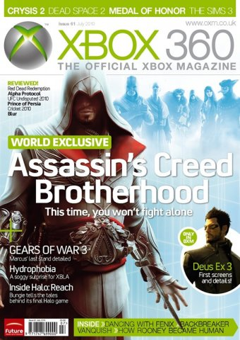 XBOX 360 The Official Magazine Issue 061 July 2010
