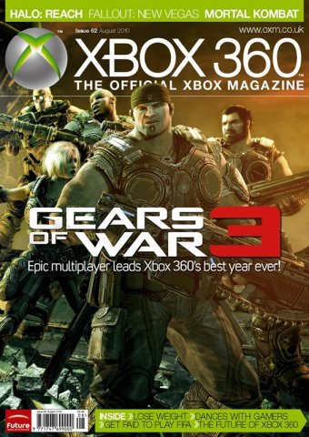 XBOX 360 The Official Magazine Issue 062 August 2010
