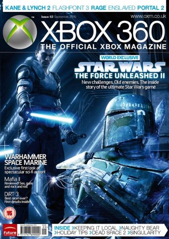 XBOX 360 The Official Magazine Issue 063 September 2010