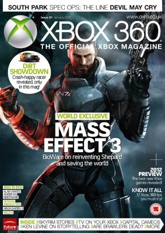 XBOX 360 The Official Magazine Issue 081 January 2012