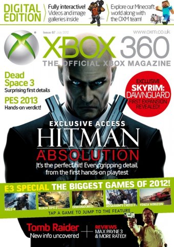 XBOX 360 The Official Magazine Issue 087 July 2012 *Digital edition*