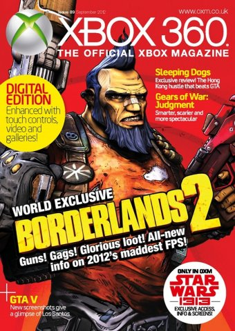 XBOX 360 The Official Magazine Issue 089 September 2012 *Digital Edition*