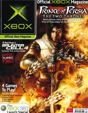 Official UK Xbox Magazine Issue 50 - Xmas 2005