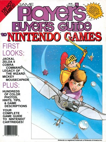Game Player's Nintendo Buyer's Guide Vol.1 No.1 (August 1988)