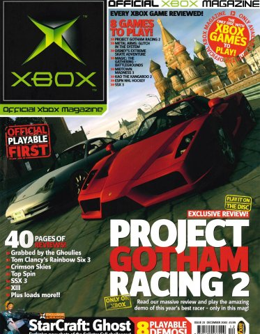 Official UK Xbox Magazine Issue 23 - December 2003