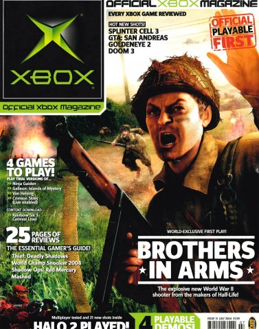 Official UK Xbox Magazine Issue 31 - July 2004