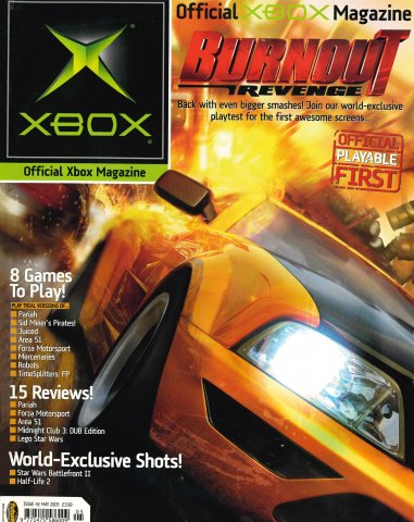 Official UK Xbox Magazine Issue 42 - May 2005