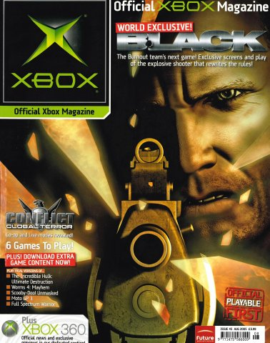 Official UK Xbox Magazine Issue 45 - August 2005