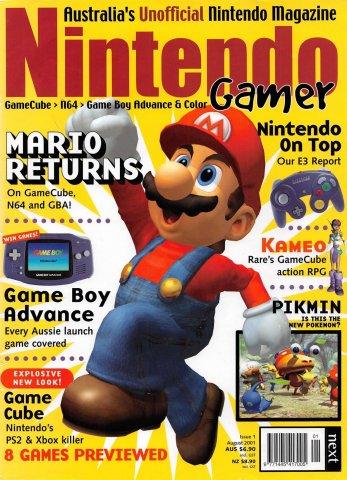 Nintendo Gamer Issue 01 (August 2001)