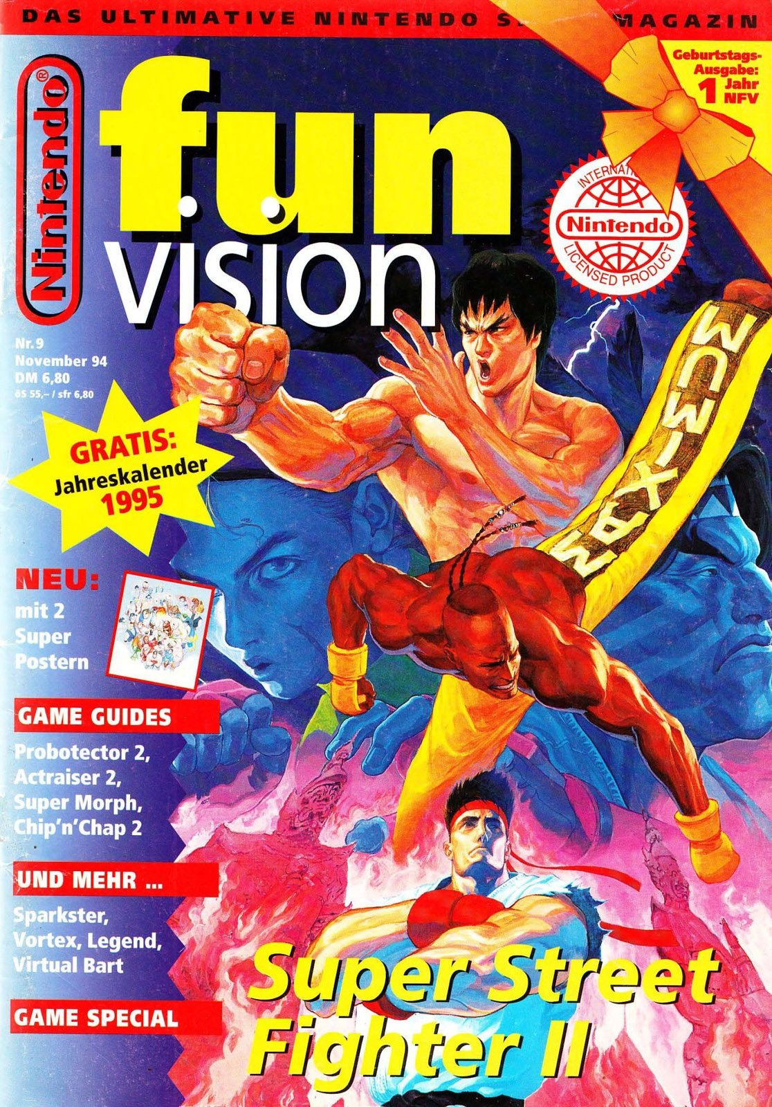 Nintendo Fun Vision Issue 09 (November 1994)