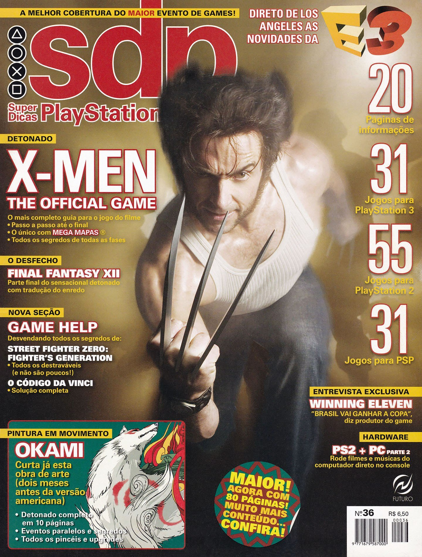 Super Dicas Playstation 36 (July 2006)