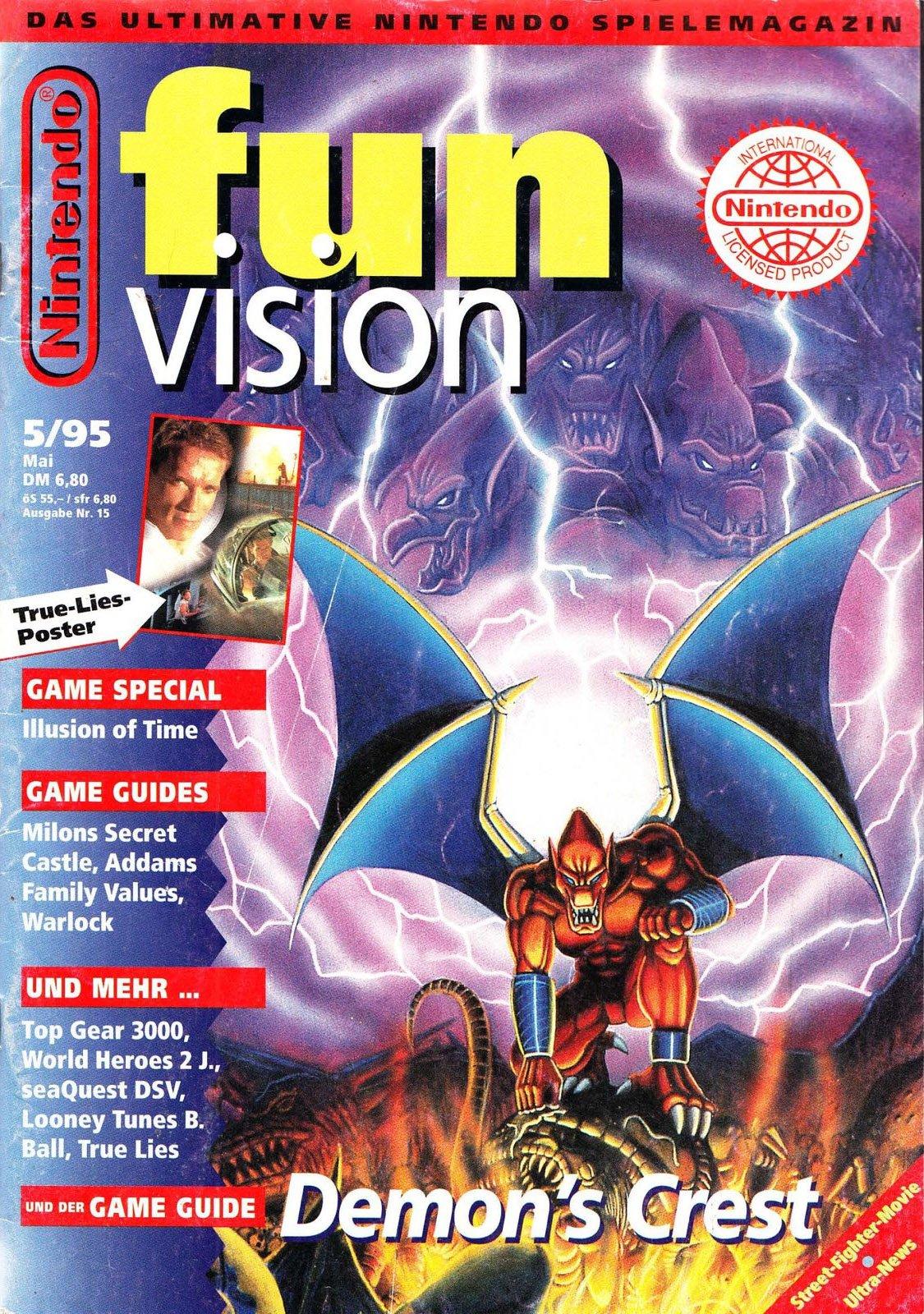 Nintendo Fun Vision Issue 15 (May 1995)