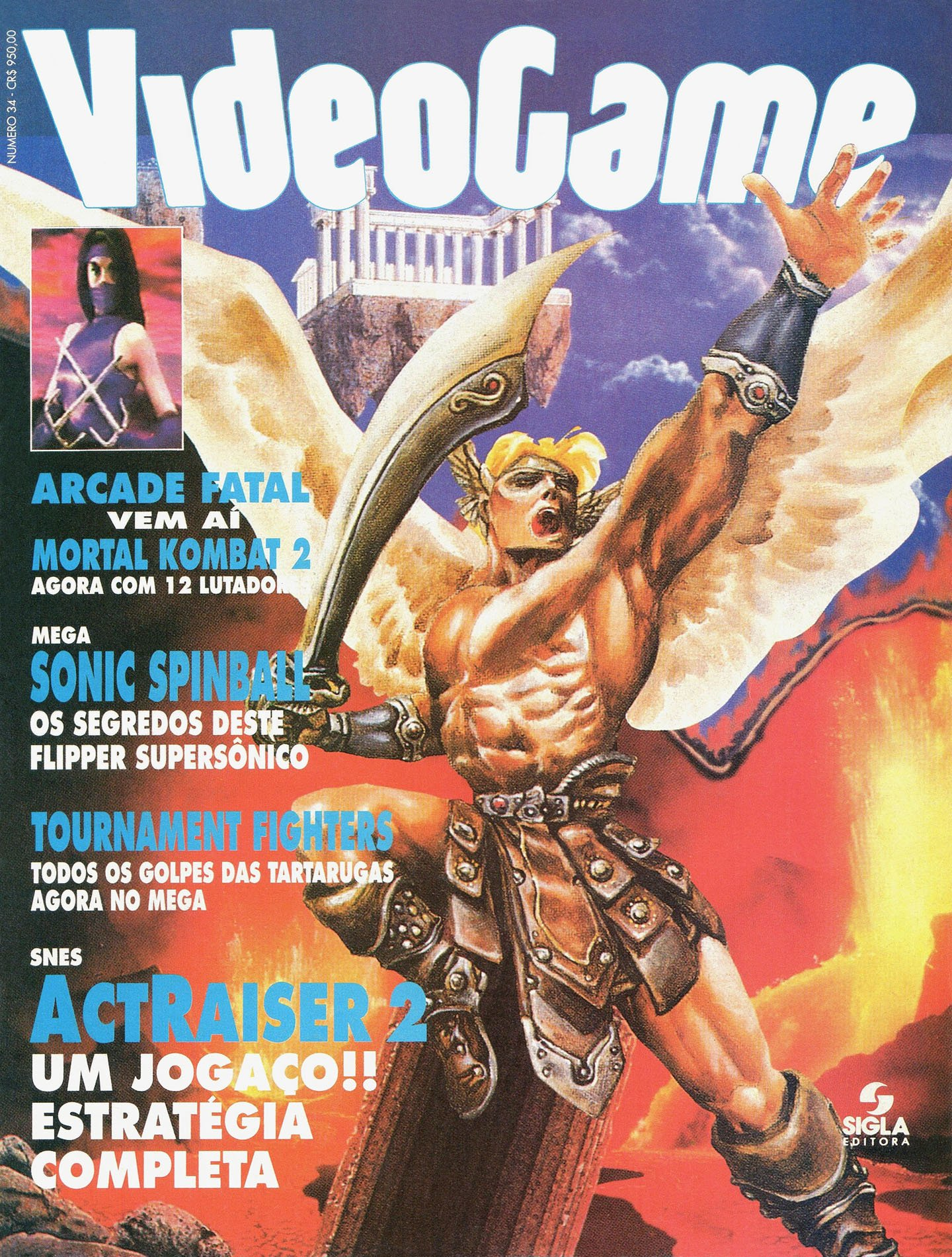 VideoGame Issue 34 (January 1994)