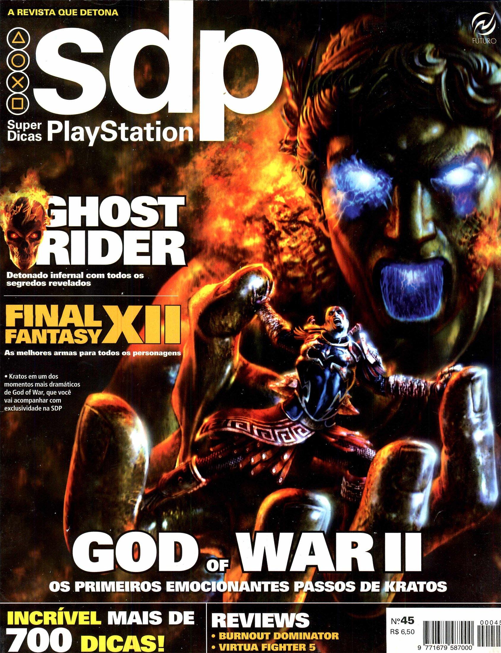 Super Dicas Playstation 45 (March 2007)