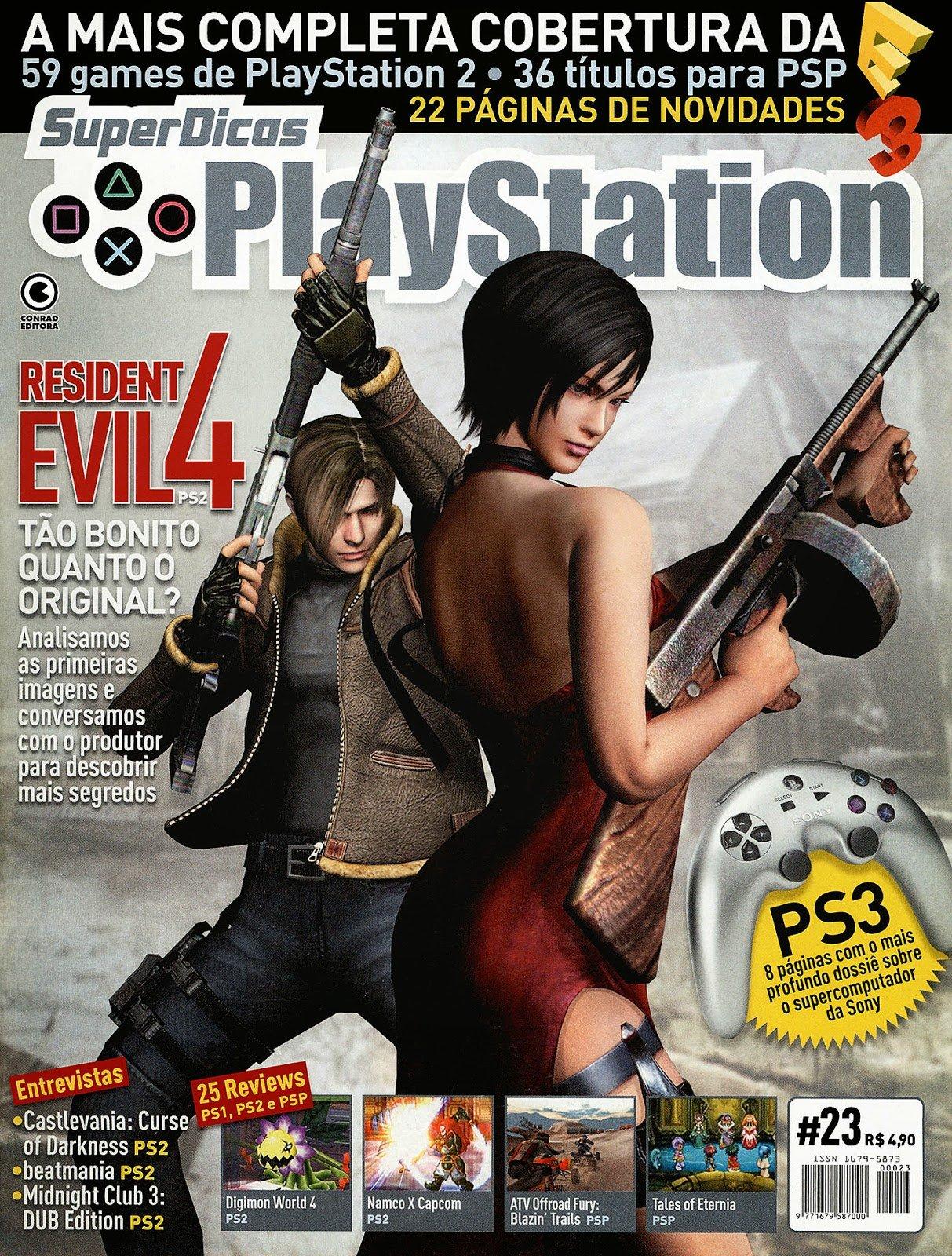Super Dicas Playstation 23 (July 2005)