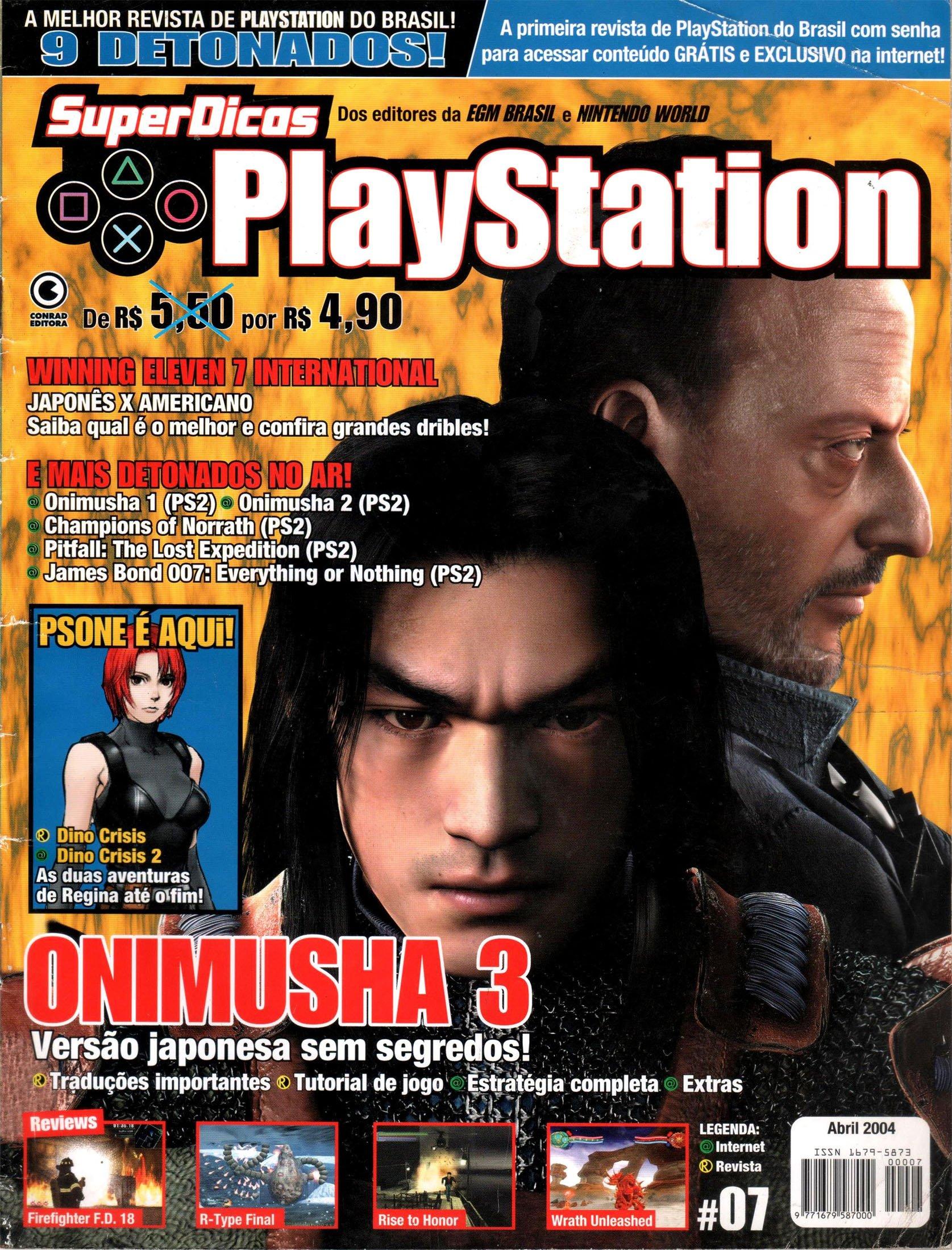 Super Dicas Playstation 07 (April 2004)