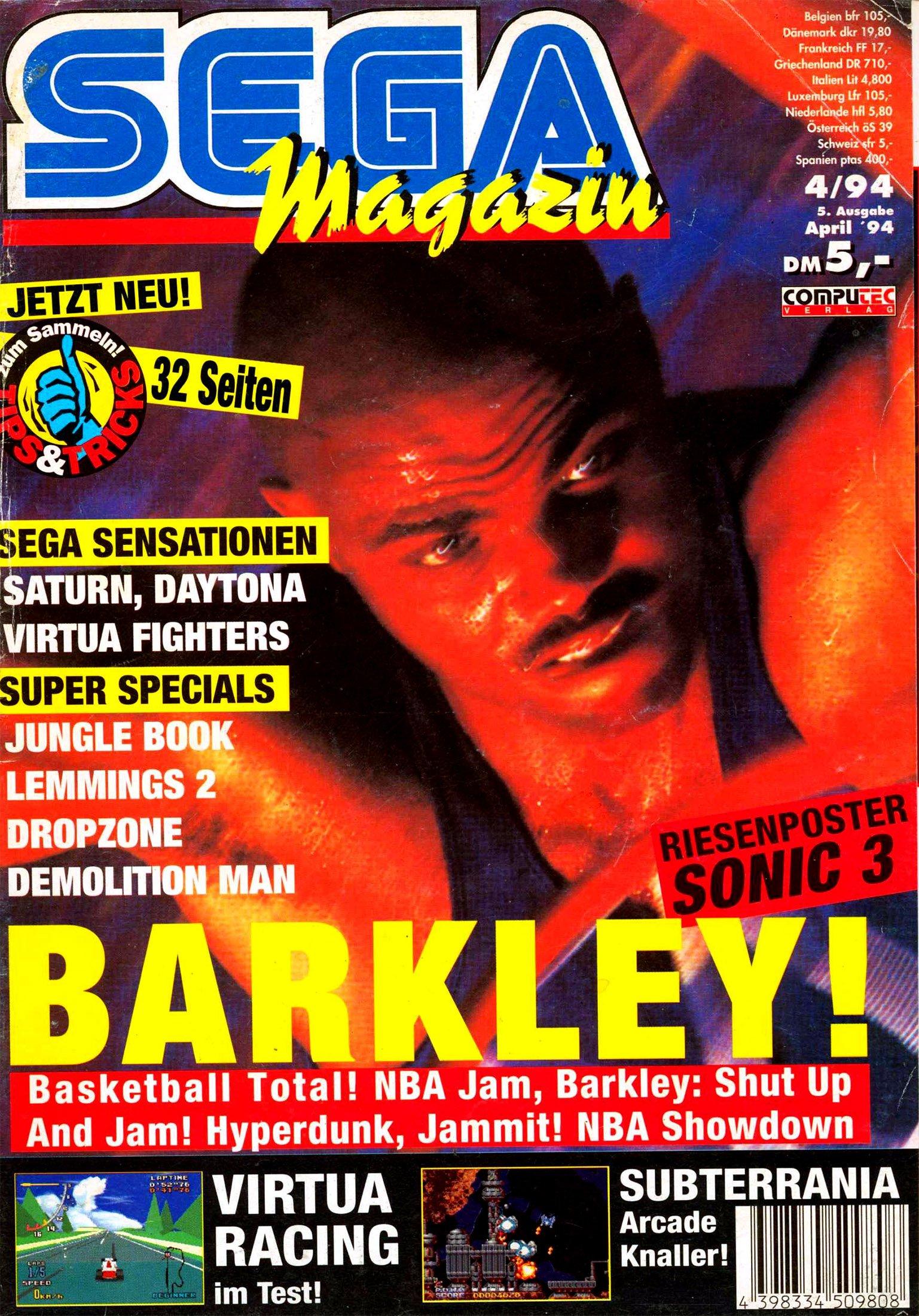 Sega Magazin Issue 05 (April 1994)