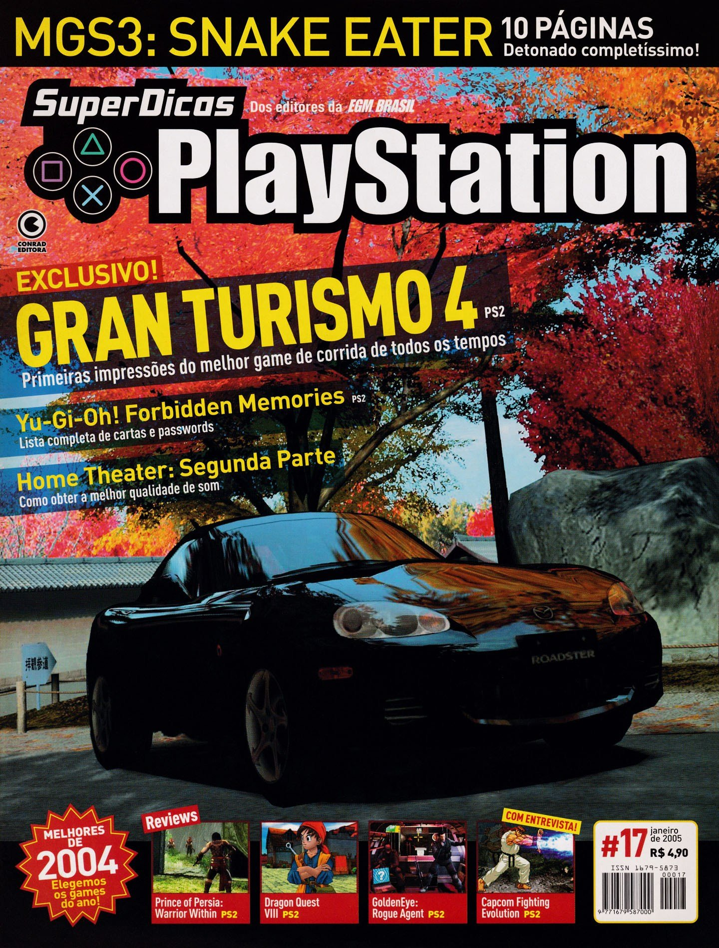 Super Dicas Playstation 17 (January 2005)