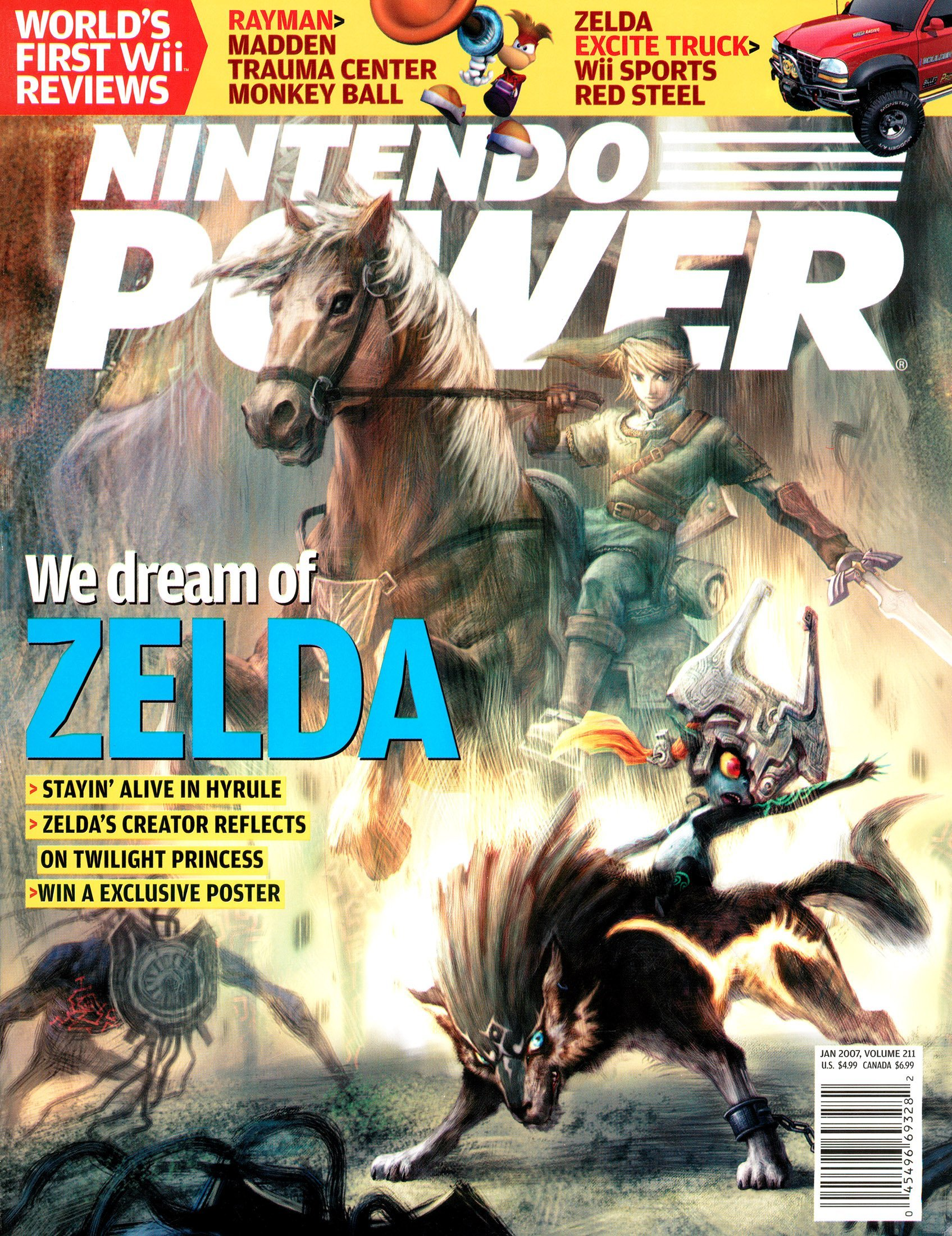 Nintendo Power Issue 211 (January 2007)