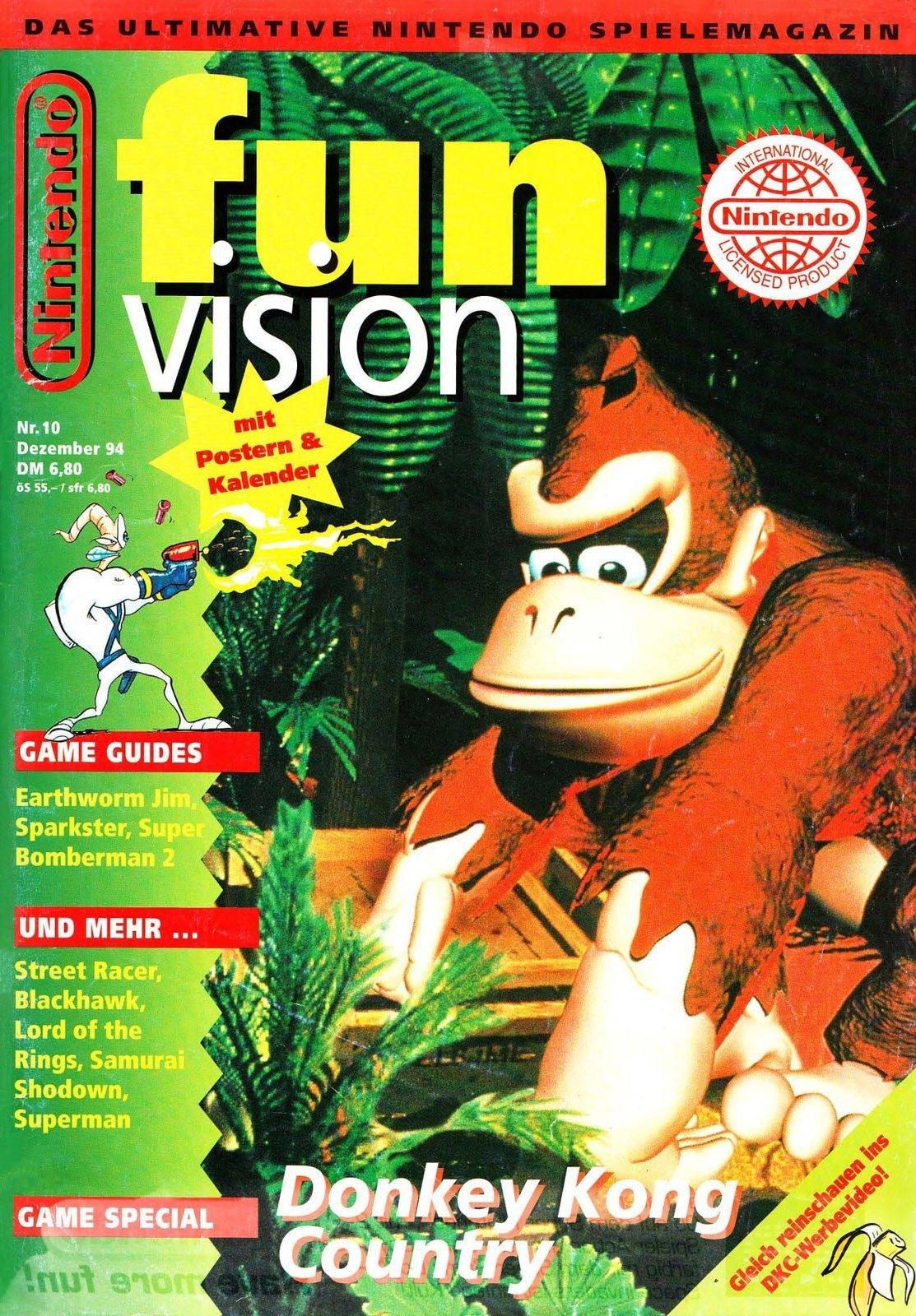 Nintendo Fun Vision Issue 10 (December 1994)