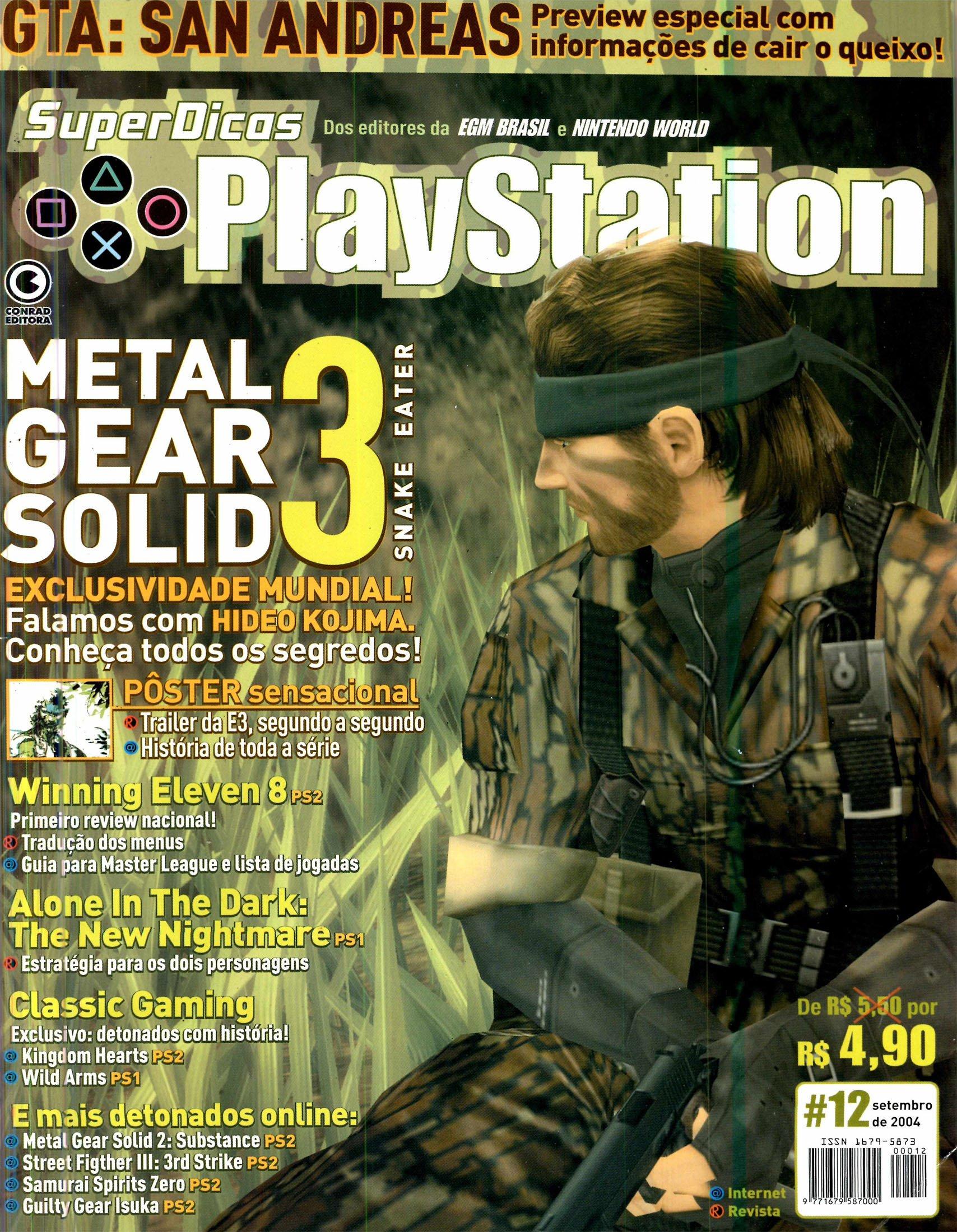 Super Dicas Playstation 12 (September 2004)