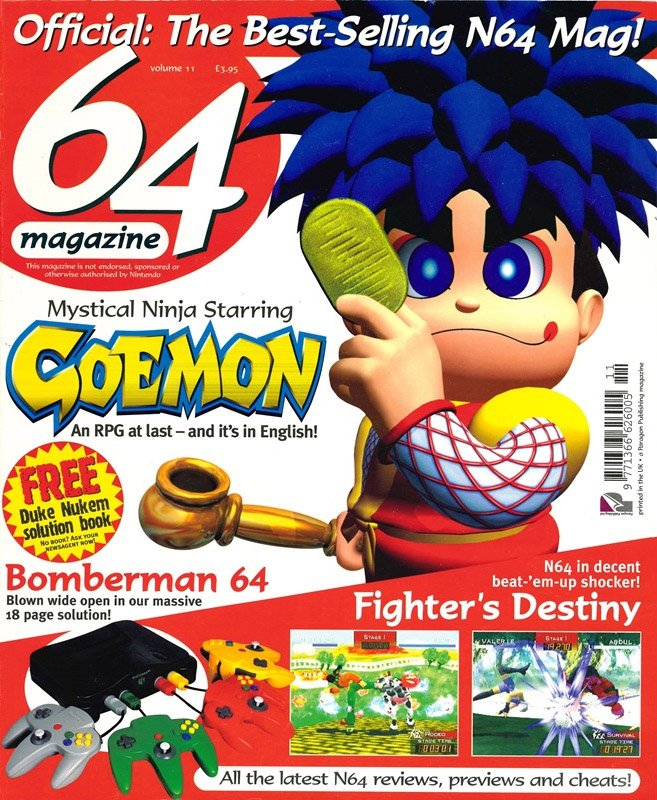 64 Magazine Issue 11 (April 1998)