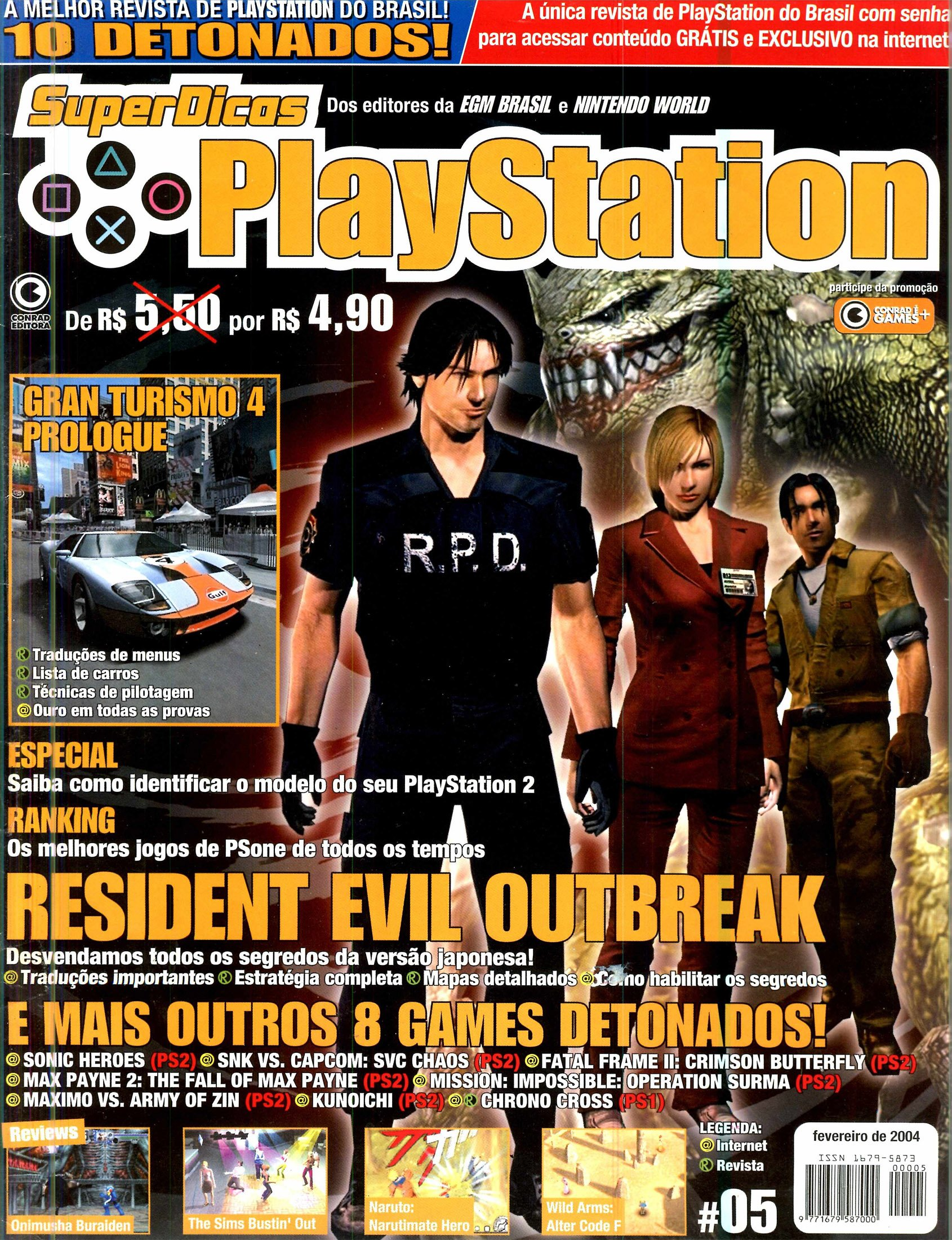 Super Dicas Playstation 05 (February 2004)