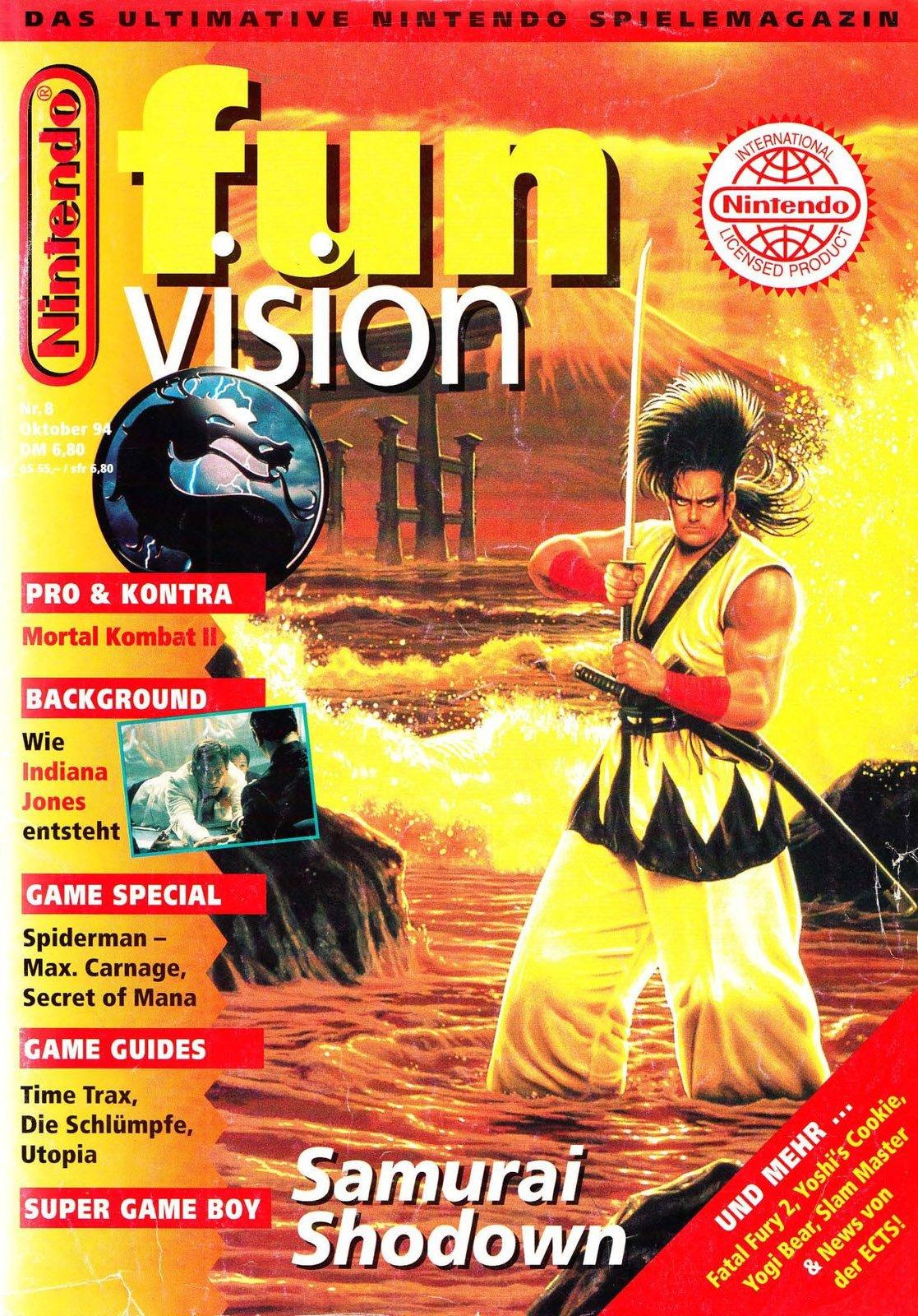 Nintendo Fun Vision Issue 08 (October 1994)