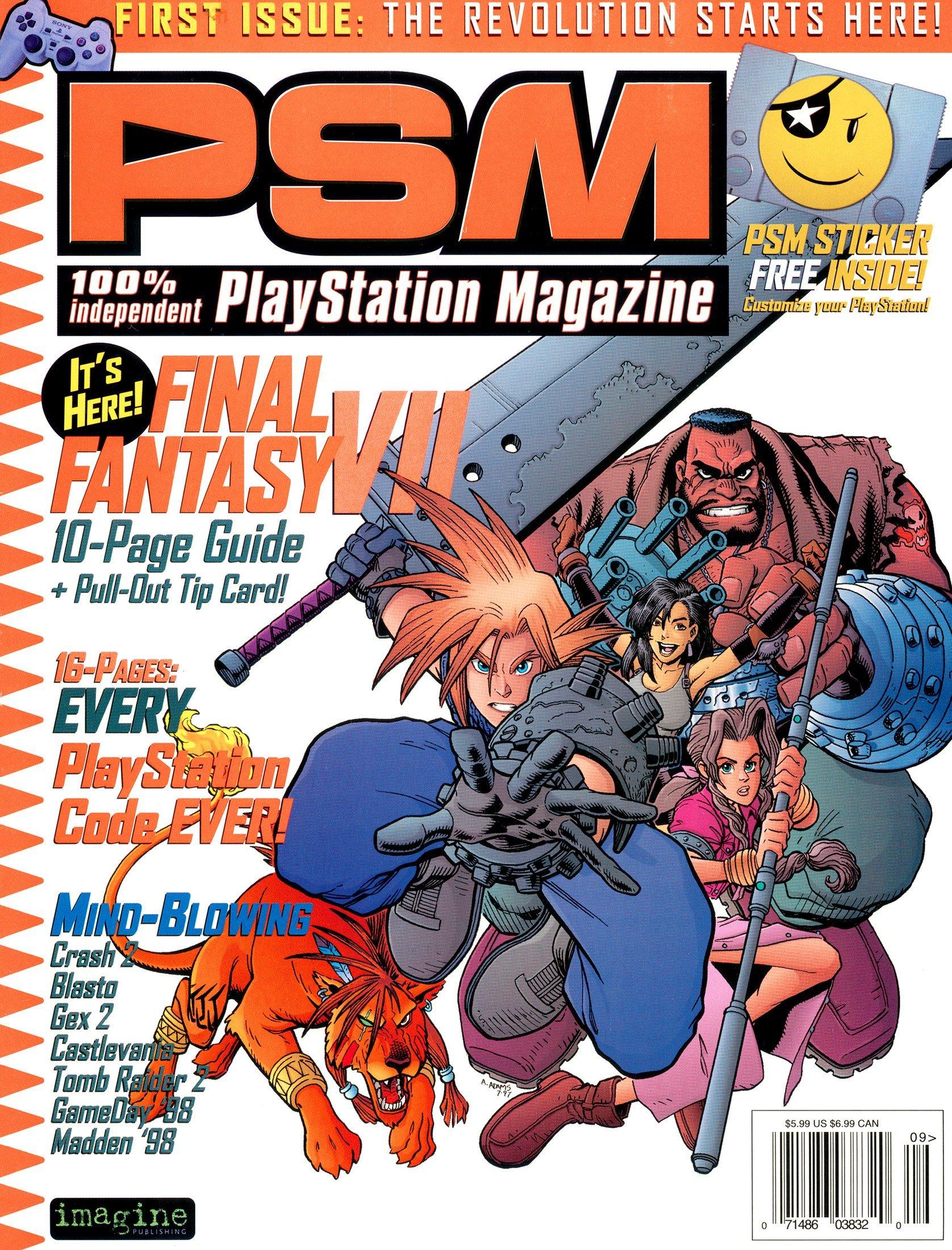 PSM Issue 001 September 1997