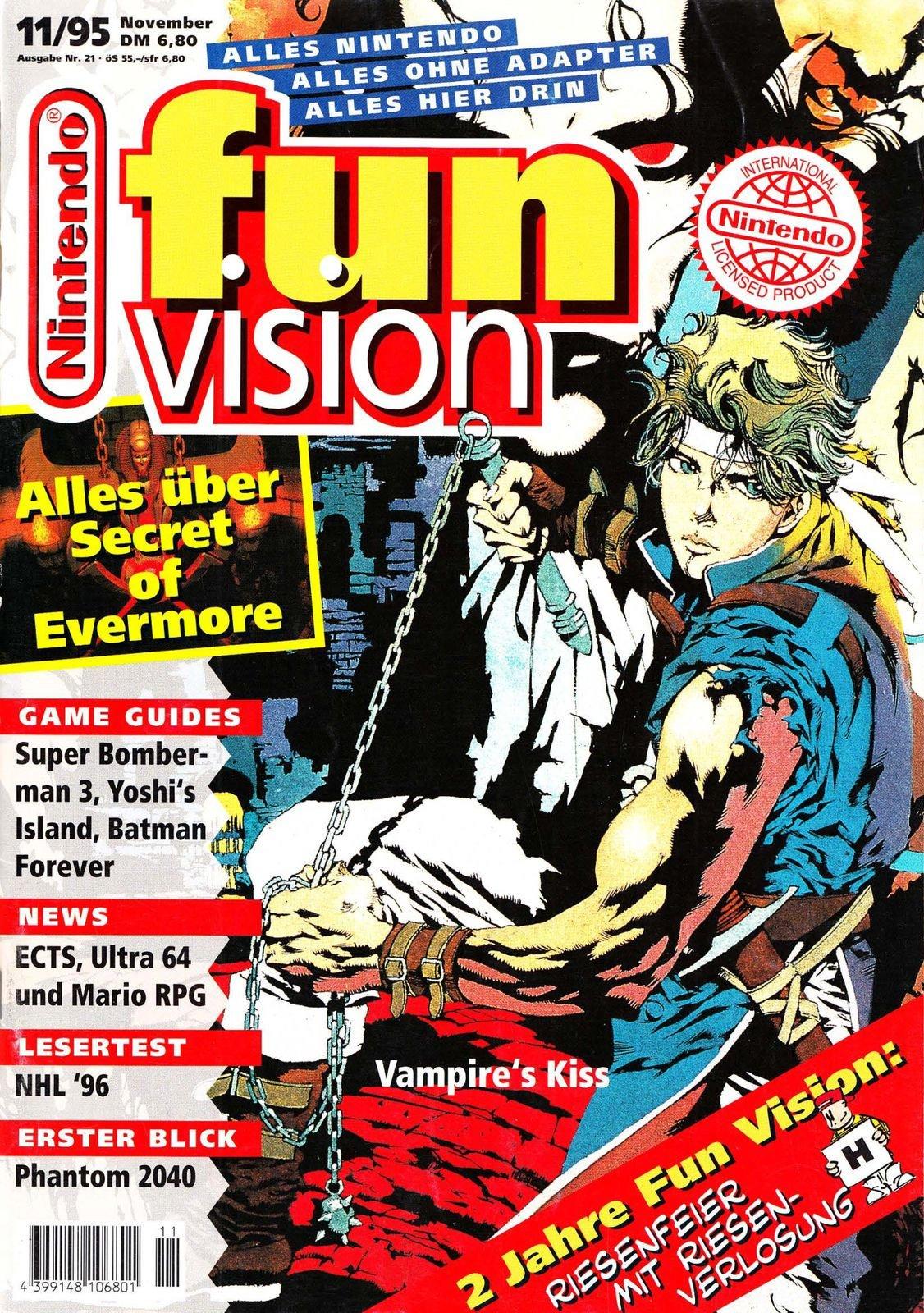 Nintendo Fun Vision Issue 21 (November 1995)