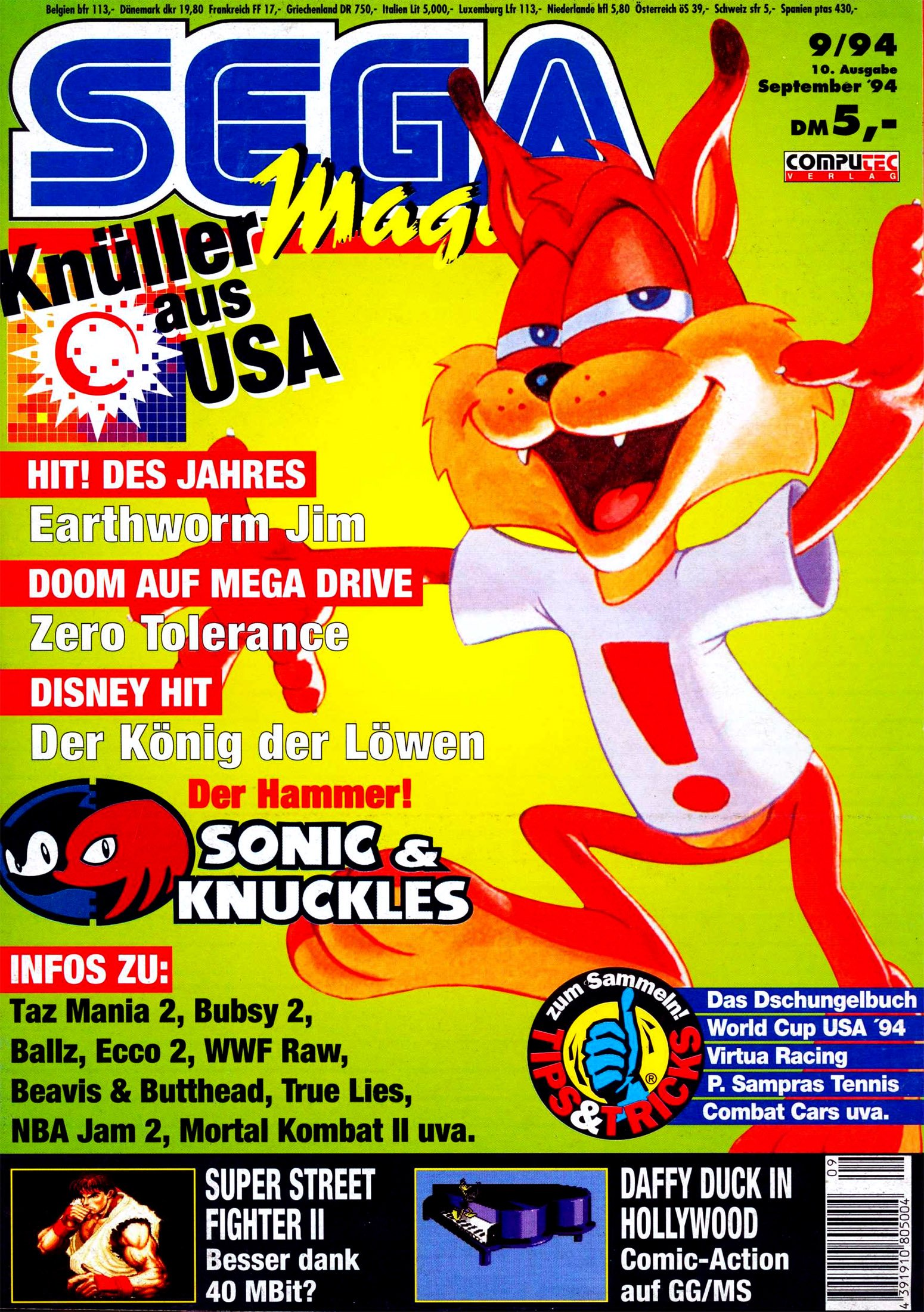 Sega Magazin Issue 10 (September 1994)