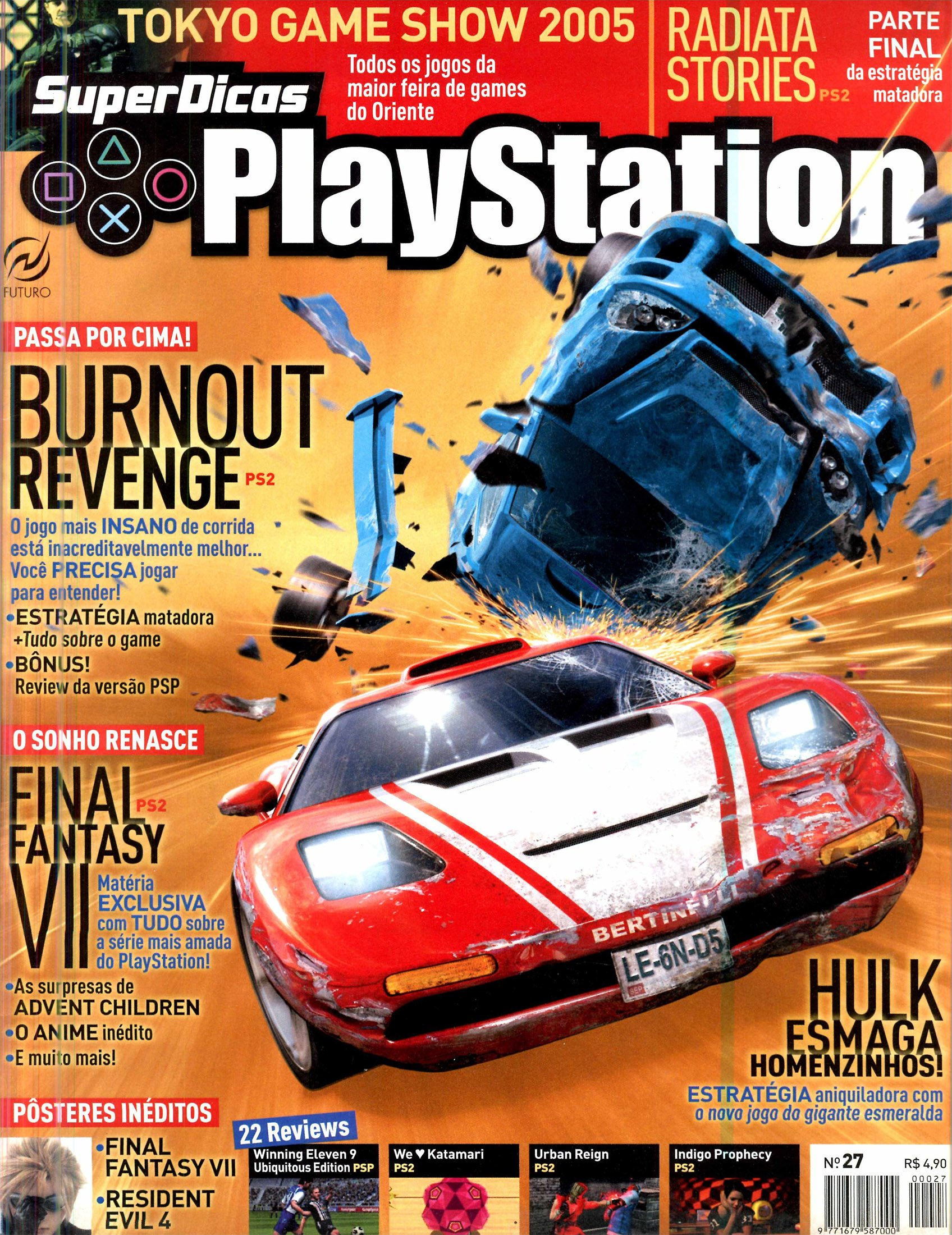 Super Dicas Playstation 27 (November 2005)