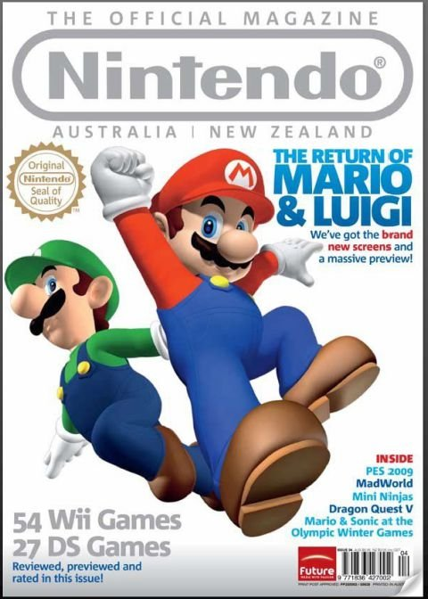Nintendo: The Official Magazine Issue 04 (March 2009)