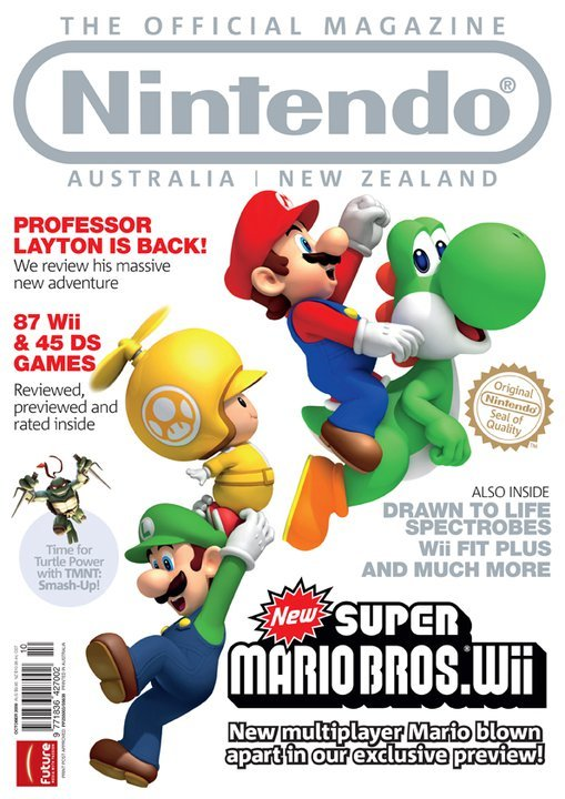 Nintendo: The Official Magazine Issue 10 (October 2009)