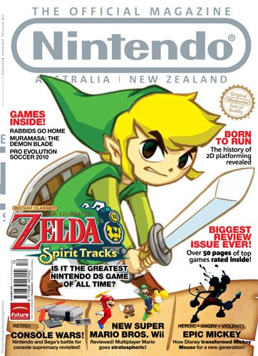 Nintendo: The Official Magazine Issue 12 (December 2009)