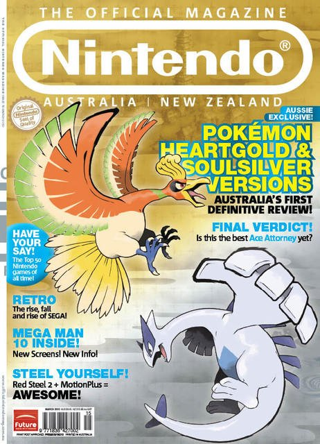 Nintendo: The Official Magazine Issue 15 (March 2010)