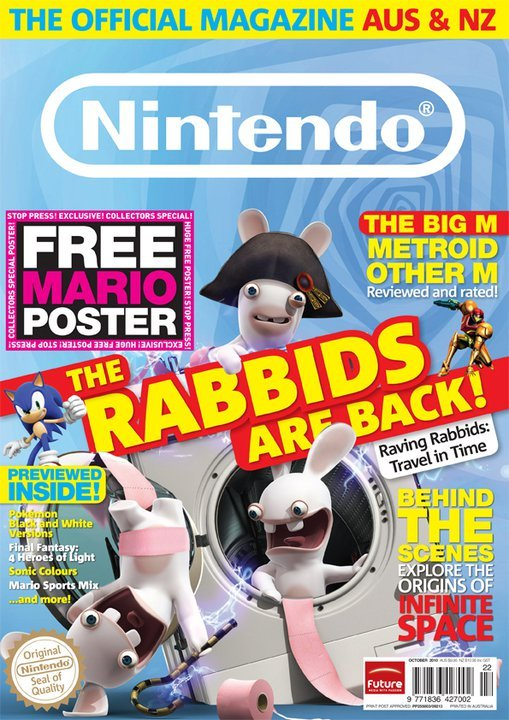 Nintendo: The Official Magazine Issue 22 (October 2010)